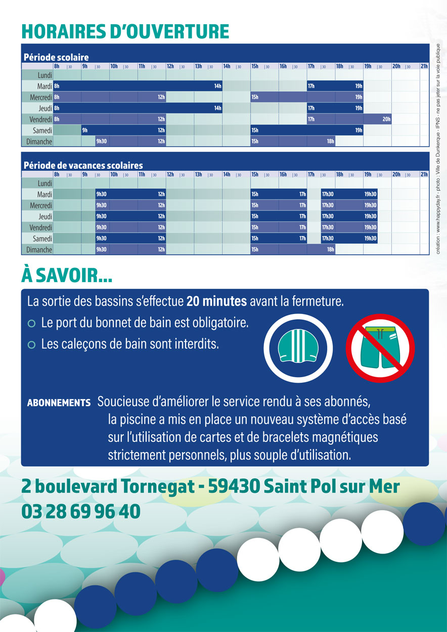 La piscine georges guynemer for Piscine tourcoing horaires