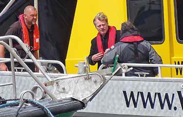 Christopher Nolan en tournage l'an dernier au port de Dunkerque