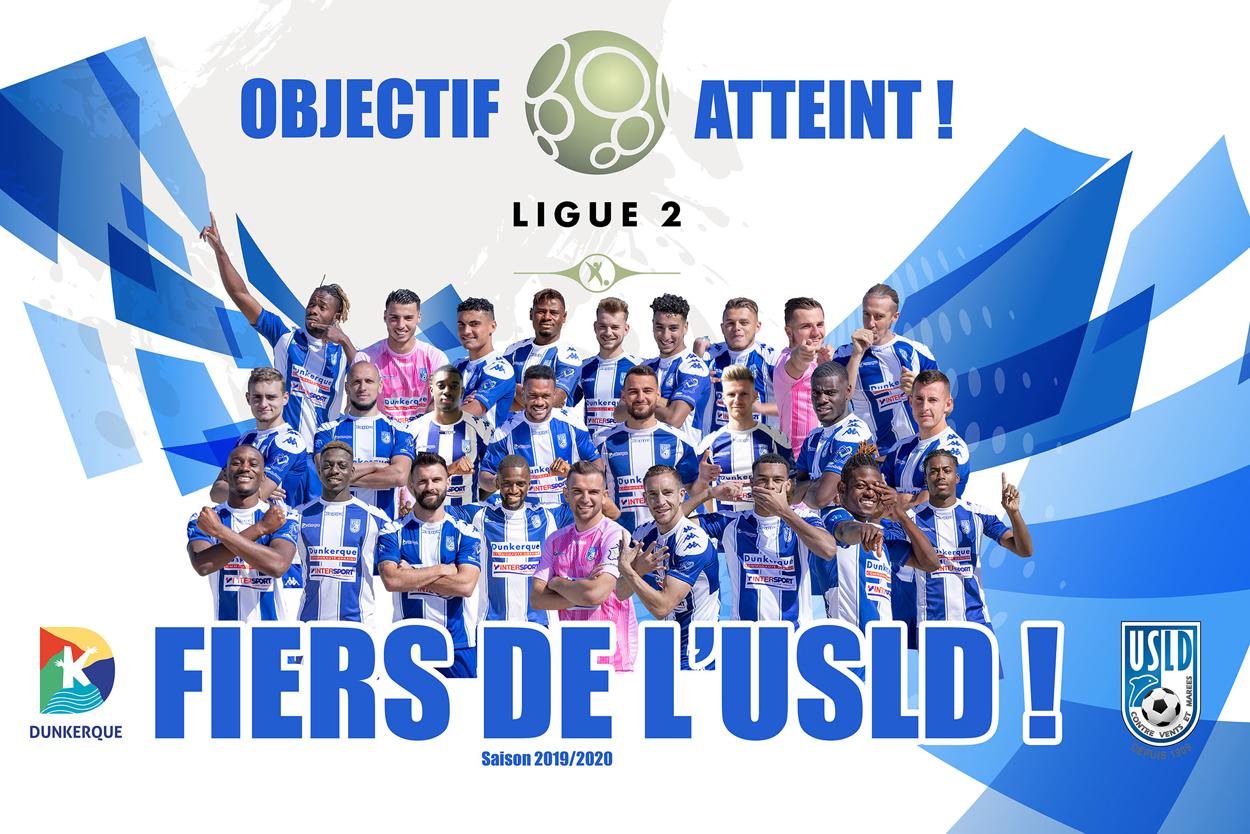 L'USLD retrouve la Ligue 2 !