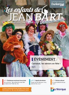 """Le numéro 3 des """"enfants de Jean Bart"""", le magazine des Seniors dunkerquois, est disponible en cliquant sur l'image !"""